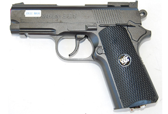PISTOLA DETONICS SPORT GAS CO2 FULL METAL wg
