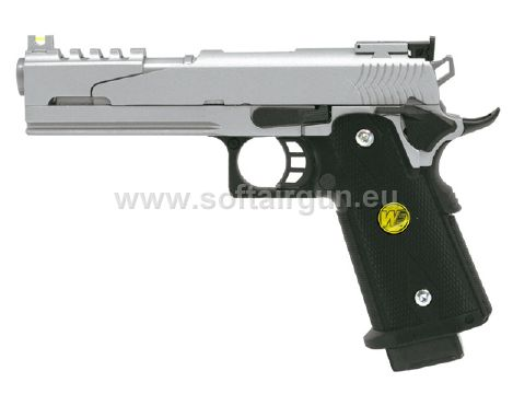 z HI-CAPA 5.1 FULL METAL-SILVER- WE