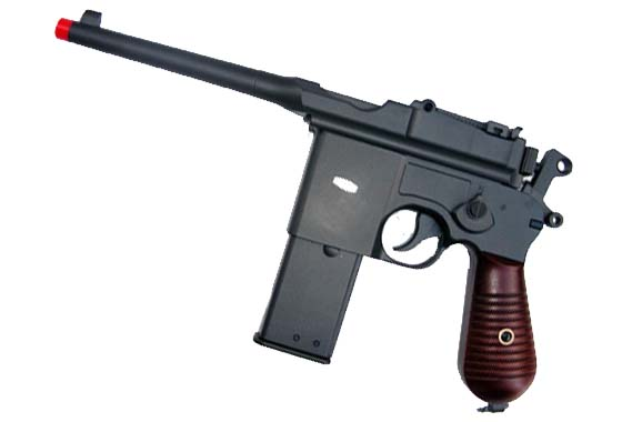 Pistola MAUSER C96 GAS FULL METAL(HFC)