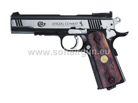 z Pistola Softair Colt co2 completamente in metallo full metal