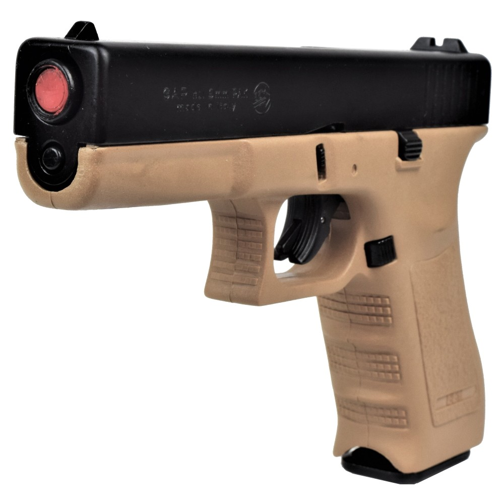 BRUNI GUNS PISTOLA A SALVE GAP CALIBRO 8mm NERA/TAN (BR-1401BT)
