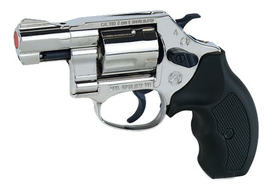 REVOLVER A SALVE NEW 380 Nikel Bruni (BR-450N)