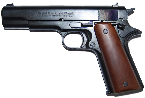 Bruni Mod.96 Pistola Salve 8mm. Colt 45
