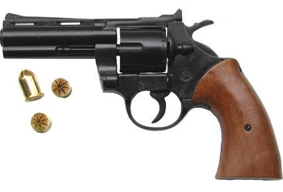 REVOLVER A SALVE MODELLO PYTHON CAL. 380 MM MG BRUNITO