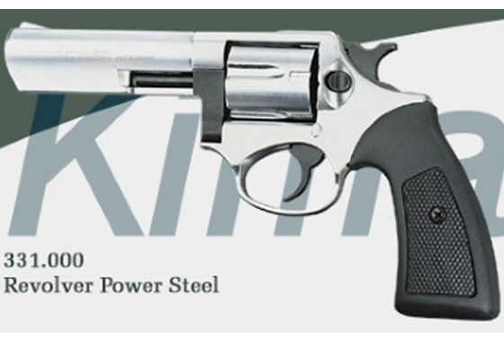 "REVOLVER A SALVE MODELLO POWER 4"" RUGER SP101"