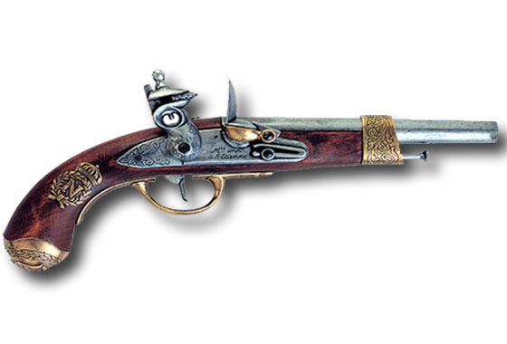 Pistola napoleone gribeauval 1806 avancarica softairgun - Porta pistola da spalla ...