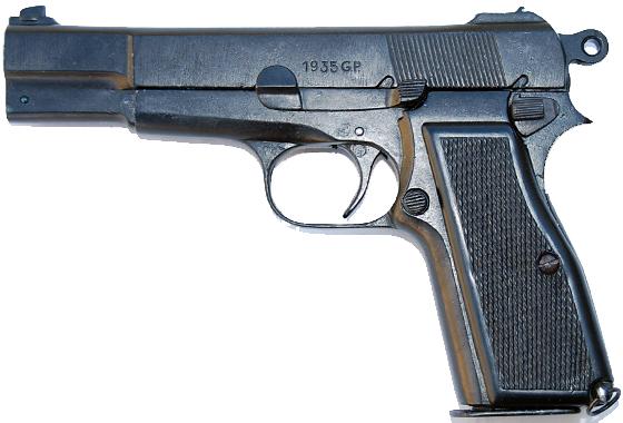 Pistola inerte browning hig power simulacro libera vendita for Rastrelliera per fucili softair