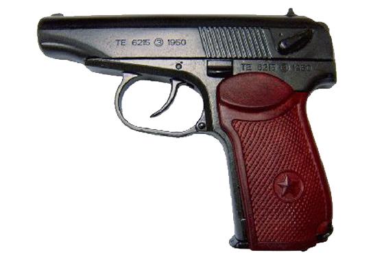 pistola russa makarov mod 1951 inerte 16cm