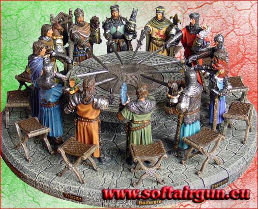 Tavola rotonda cavalieri re 39 art softairgun - Numero cavalieri tavola rotonda ...