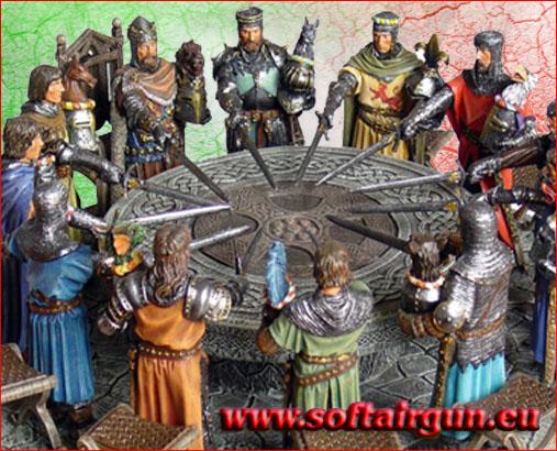 Tavola rotonda cavalieri re 39 art softairgun shop online di articoli e accessori - La tavola rotonda di re artu ...