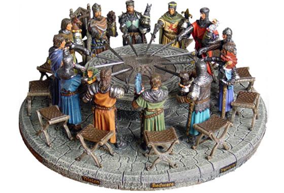 Tavola rotonda cavalieri re 39 art softairgun - Cavalieri della tavola rotonda ...