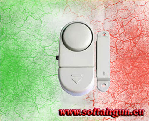 Allarme unita 39 porte finestre sensore magnetico antifurto softairgun shop online di articoli e - Antifurto porte e finestre ...
