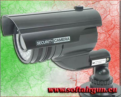 Telecamera cctv sicurezza telecamera x esterno finta for Telecamere x esterno