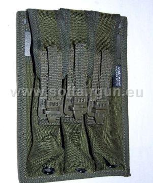 Portacaricatore per Mp5 Mp2 colore oliva 3 caricatori