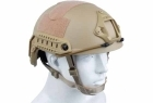 CASCO DA SOFT AIR-FAST SYSTEM TACTICAL TAN (ROYAL)