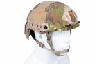CASCO DA SOFT AIR-FAST SYSTEM TACTICAL VEGETATO (ROYAL)