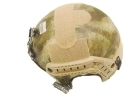 ELMETTO CASCO DA SOFT AIR-FULL CONTACT IBH-GREEN LEAF ELEMENT