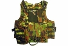 GILET TATTICO BODY ARMOR LIGHT CLIP LATERALI CON 7 TASCHE