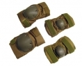 SET GINOCCHIERA/GOMITIERA TACTICAL LONG TAN (ROYAL)