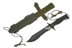 COLTELLO SURVIVAL RAMBO TACTICAL SERIES  KIT DI SOPRAVVIVENZA RM