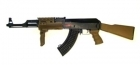 AK47 RAS TACTICAL TAN (GOLDEN BOW)