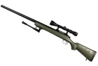 VSR10L Long Barel Verde + Ottica 3-9x40 + Bipiede WELL