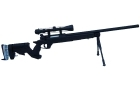 FIREBALL TACTICAL R96 NERA MOLLA CON 3-9X40 E BIPIEDE (WELL)