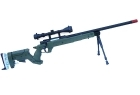 FIREBALL TACTICAL R96 VERDE A MOLLA CON 3-9X40 E BIPIEDE (WELL)