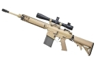 SR25 CARBINE TAN CQB FULL METAL XM110 AR-SR005