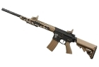 R110D SLIM LINE TACTICAL TAN CQB SCARRELLANTE FULL METAL (APS)