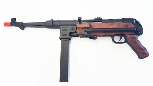 MP40 FULL METAL (AGM) Mitra Tedesco II War color legno
