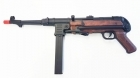 MP40 FULL METAL (AGM) Mitra Tedesco II War color legno