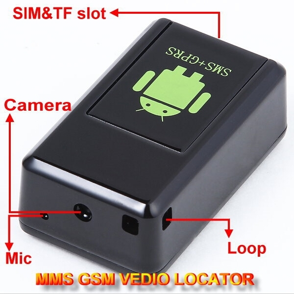 MINI LOCALIZZATORE SATELLITARE GPS GSM SOS TRACKER ASCOLTO