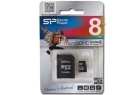 Micro Sd Hc 8gb Silicon Power Class 4