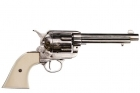 ".45 caliber Peacemaker revolver 5½"", designed by S.Colt, USA 187"